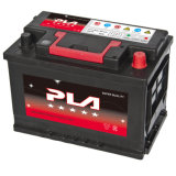 12V 75ah DIN 표준 밀봉된 지도 산성 저장 재충전용 자동차 배터리