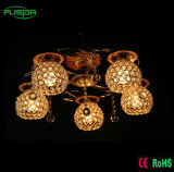 3개의 램프 5 램프 홈 또는 호텔 프로젝트를 위한 수정같은 천장 빛 샹들리에 빛