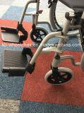 Plegable de acero, económicos, silla de ruedas manual