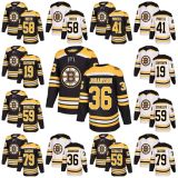 Boston Bruins Chris Breen Teddy Purcell Zachary Senyshyn Hockey camisolas