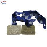 Personalizar el fútbol de la medalla de metal para la venta