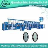 Top Untra Thin Sanitary Pad Machine avec SGS (HY600-HSV)