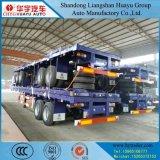 De Buitenlandse Hulp van China/Hulp/Bijgestane Semi Aanhangwagen/de Aanhangwagen/de Oplegger van de Vrachtwagen met de Band van de As