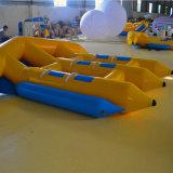 De opblaasbare Boot van de Banaan voor het Spelen