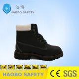 Низкая цена коровы Split кожа безопасность работы обувь
