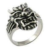 Ringen van de Draak van het Metaal van de manier de Goedkope Met de hand gemaakte