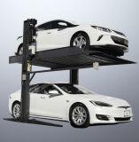 製造業者2.7t 2のポストの二重層の油圧Vehivleの駐車揚げべら