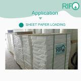 Étanche et résistant aux déchirures papier synthétique de couleur blanche PP pour la nourriture Package