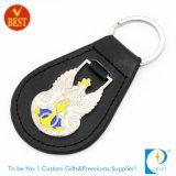 Дешевые личного индивидуального дизайна кольца для ключей из кожи высокого качества с вашим логотипом