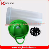 [إك] ودّيّة [700مل] بلاستيكيّة عالة بروتين زجاجة بلاستيكيّة كرة بائع جملة ([كل-7033ب])