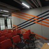 Tabique acústica de sala