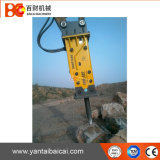 Rupteur hydraulique de KOMATSU Soosan Sb121 Sielnt avec le burin 155mm