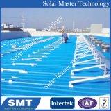 Supports de montage panneau PV solaire en acier au carbone de l'aluminium 6005-T5 Rail