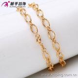 Vergoldung-Halsketten-Schmucksachen der Form-Man18k (42381)