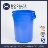 Grande position ronde bleue réutilisée de plastique de 120L Hppe