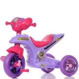 Новый трицикл младенца PP пластичный с нотами и светом