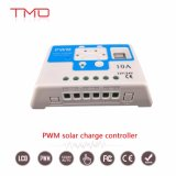 Écran LCD 10hors réseau d'un contrôleur de charge solaire PWM MPPT avec USB bas prix