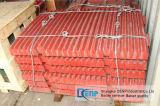 Плита челюсти для дробилки челюсти PE250X400