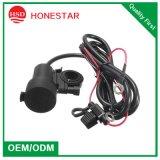 Fonte de alimentação dupla impermeável móvel do USB da motocicleta a mais nova do USB 5V 3.1A