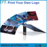 O logotipo livre personalizou a movimentação do flash do USB da movimentação 8GB (EC002)