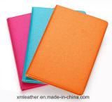 diário do estudante do caderno da tampa do couro do estilo da forma