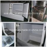 Напольный положенный в мешки замораживатель льда Автоматическ-Размораживает или холодный Merchandiser льда стены