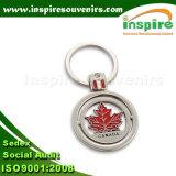 Gostavas de porta-chaves com o logotipo personalizado, ligas de zinco Loja chaveiro