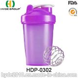 Recién 400ml botella plástica Proteína Shaker (HDP-0302)