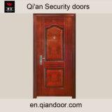 Porte avant en acier plaqué avec afficheur de porte