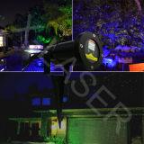 Luz laser de estrella del jardín Twinkling impermeable al aire libre del modelo