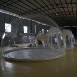 Almofada insuflável exterior transparente tendas de campismo