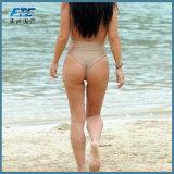 Einteilige reizvolle normale Form-Bikini-Badeanzug-Badebekleidung für Beachwear