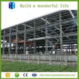 Planes prefabricados de la casa del metal del pequeño de la estructura de acero marco del taller