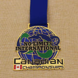 Soft su ordinazione Enamel Medallion Metal Medal per il Canada Events