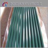 PPGI Farbe beschichtetes galvanisiertes gewölbtes Stahldach-Blatt