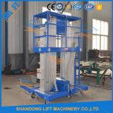 Tipo de antena de elevação de alta velocidade o dobro de escadas de extensão de plataforma de trabalho