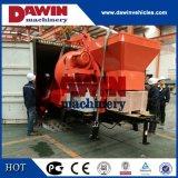 30m3/Hr 450Lドラムが付いている電気トレーラーの具体的なミキサーポンプ