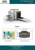 X scanner del bagaglio di obbligazione dei raggi X della macchina del raggio per gli oggetti di grande misura