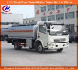 Llenado de aceite de la carretilla con dispensador de camión de 6.000 litros de combustible