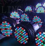 Stade DMX extérieure par 54 3W à LED RGBW Éclairage extérieur