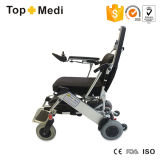 Chaise roulante électrique en aluminium portable facile à utiliser pour l'avion