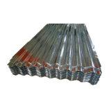 Hot feux JIS G3312 Feuille de toit de zinc métal ondulé