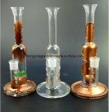 Gold, Silber - gefiltertes Glas-Rohre, zum der Tabak-Rauch-Rohre wieder herzustellen