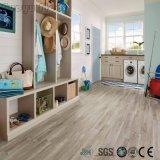 Matériau de construction en bois intérieur Revêtement de sol en vinyle imperméable en plastique