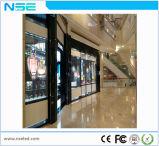 El vidrio 1920Hz de la transparencia de P3.75mm el 70% restaura la visualización de LED transparente de la tarifa