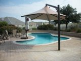 Membranen-Struktur-Swimmingpool-Dach-Bedeckung