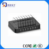 2015 7 지능적인 포트를 가진 최신 판매 USB 충전기 (CR760)