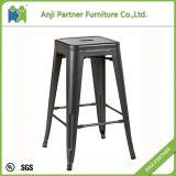 Металл просто конструкции самой последней мебели комнаты конструкции круглый безрукий обедая стул (Kalmaegi)