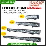 Simple rangée Classic CREE LED Light Bar 10pouce 20pouce 30pouce 40pouce 50inch une ligne barre LED