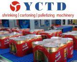 PEのフィルムのボックスまたは自動ピストン収縮包装機械(YCTD- YCBS80)のための高速収縮のラッパー